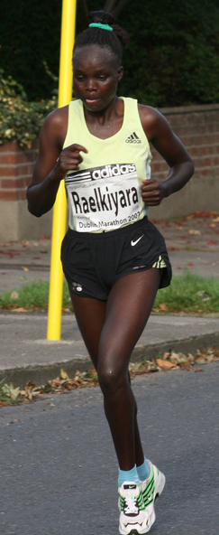 "Demadonna's Kiyara of Kenya clocks 2h26'23"" to take victory at the Shanghai International Marathon, an IAAF Gold Label Road Race"