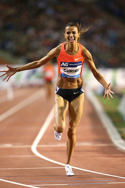 Habiba Ghribi runs national record and the meeting record to take first the IAAF Diamond League in Brussels on Friday