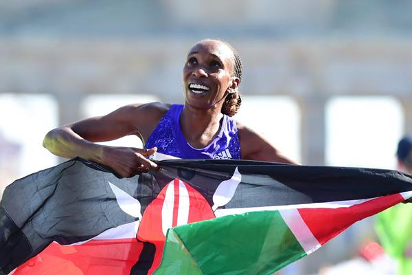 Demadonna's Gladys Cherono and Aberu Kebede take first and second in Berlin women's Marathon 2015